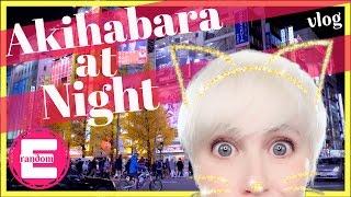Akihabara at Night | Sony a7sII | SlowMotion | Tokyo JAPAN | 4K