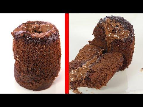 Magic Chocolate Lava Cake