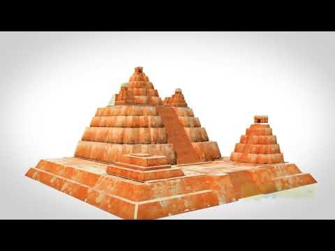 Tikal 3d, El Mirador and Danta Guatemala