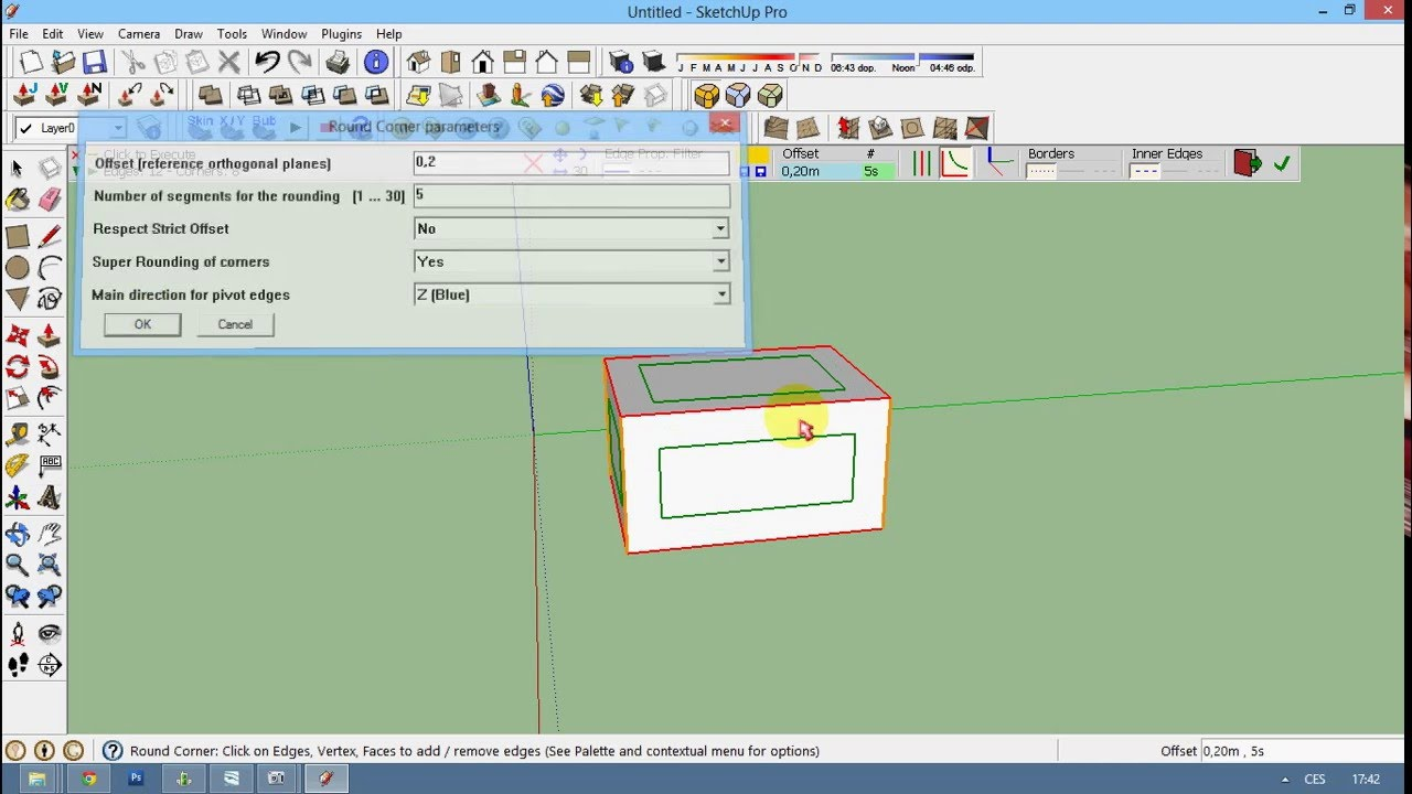 sketchup how to add the man