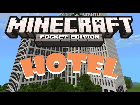 Minecraft PE - Hotel Map Review! - Download