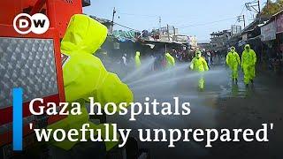Coronavirus outbreak in crowded Gaza sparks 'deep worry' | DW News