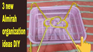3 New Almirah organization ideas DIY / wardrobe organization hacks tips & tricks