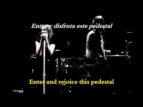Portishead - Pedestal Live Subtitulado  lyrics
