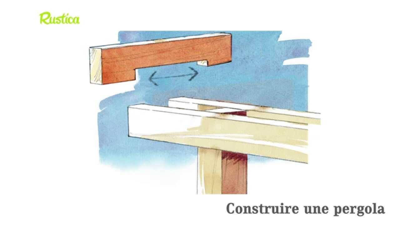 Construire Pergola Construire Pergola Pour Les Pergolas Plus  ~ Comment Construire Une Pergola En Bois