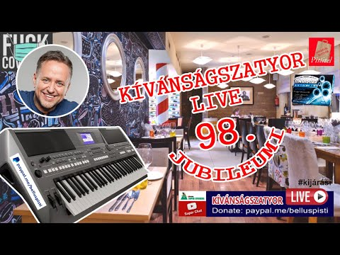 KÍVÁNSÁGSZATYOR LIVE 98.