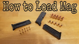 How to: Load Ruger Magazines
