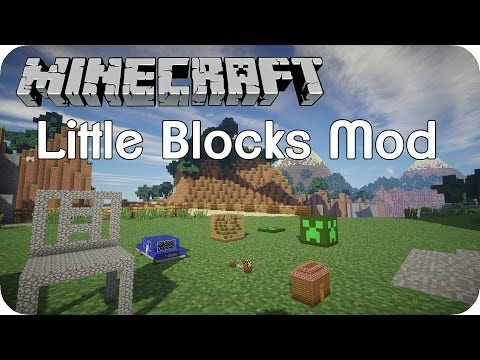 Little Blocks Mod - Minecraft Mod Review [DE] [HD]