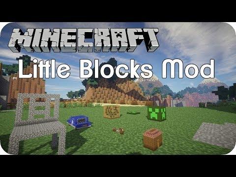 Little Blocks Mod - Minecraft Mod Review [DE] [HD]