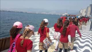 Pamukyazı Primary School, Learning through games to keep children at school