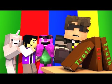 Minecraft TWO TRUTHS AND ONE LIE!