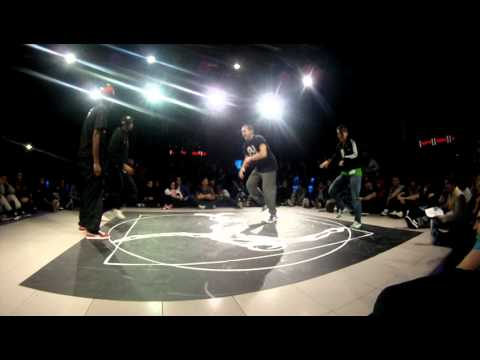 Juste Debout SPAIN 2012 | Mamson & Babson vs Misty-K & Jor.G | House Final