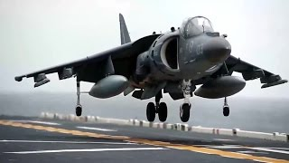 Legendary Jump Jet: AV-8B Harrier Short Takeoffs & Vertical Landings