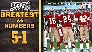100 Greatest Teams: Numbers 5-1 | NFL 100