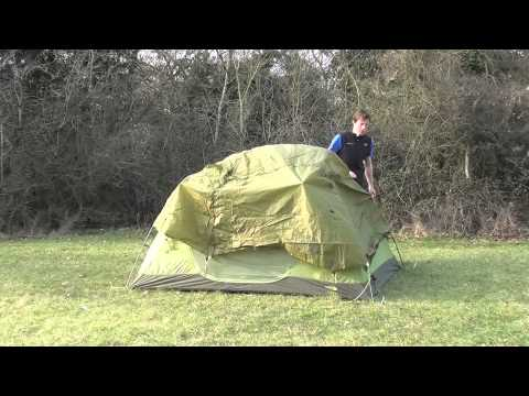 How to pitch a The North Face Minibus 3 tent
