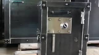 Best Small Home Safe | Industrial Decor | Best Looking Pistol Safe | Luxury Safe