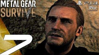 Metal Gear Survive - Gameplay Walkthrough Part 7 - Seth Boss Fight (Full Game) PS4 PRO