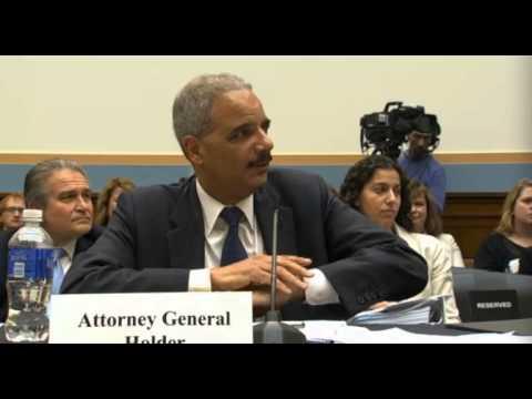 Eric Holder to Rep. Louis Gohmert -