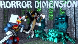 Minecraft | HORROR DIMENSION MOD Showcase! (Horror Mod, Scary Mod, Ice and Shadow)