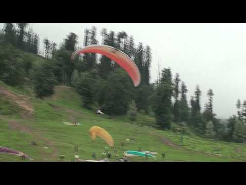 Aman ParaGliding at Manali india in the summer of 2010