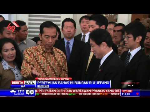 3 Poin Pembahasan Jokowi dan Menlu Jepang