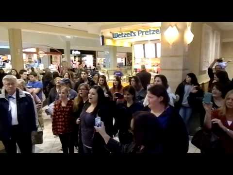 Westfield Mall - Food Court - FlashMob 2012 - Hallelujah
