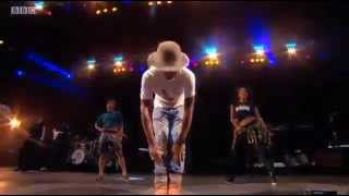Pharrell Video - Pharrell Williams' set from the Main Stage at T in the Park 2014