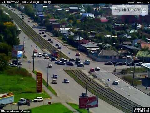 ДТП авария в Челябинске с участием полицейских