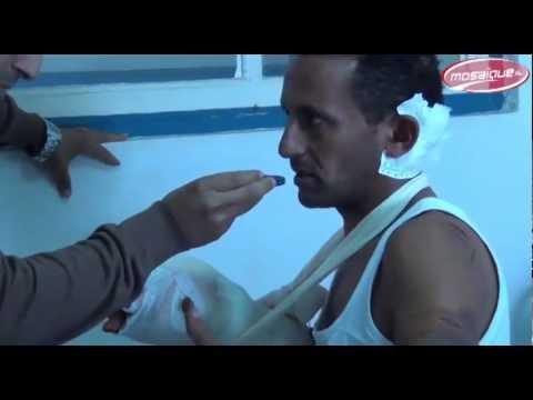 image vidéo  دوار هيشر : منذر الهمامي المعتدي عليه من طرف السلفيين يوضح