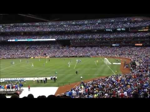 Chelsea vs Manchester City at Busch Stadium in St. Louis