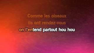 Karaoké Zou Bisou Bisou Jessica Paré