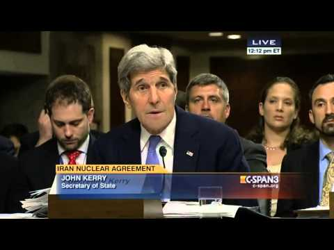 Tom Cotton w/John Kerry; Iran Deal; Senate Armed Services Committee