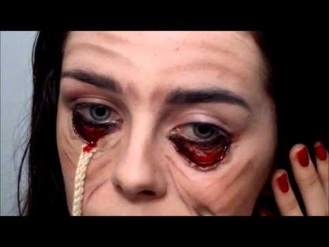 Stretched Face Halloween / Special FX makeup tutorial