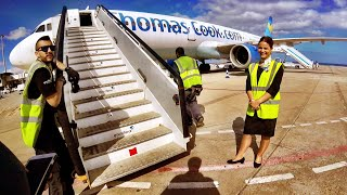 Thomas Cook's ECONOMY PLUS - is it worth it? Fuerteventura to Birmingham, Airbus A321