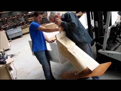 Hydrofoil boat making of
