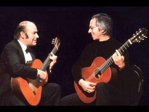 Albeniz - Castilla-Seguidillas (Julian Bream&John Williams, guitars)