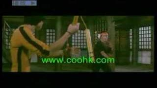 Bruce Lee Game of Death Nunchaku Playing