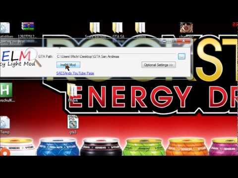GTA SA Emergency Light Mod Tutorial