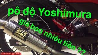 Exciter gắn pô độ yoshimura chính hãng có bị bắt ko ?