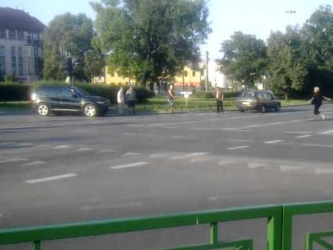 Bójka kierowców w centrum Bydgoszczy