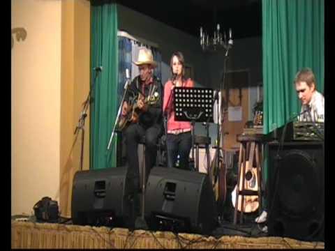 Tommy Nolen und Tochter live on stage