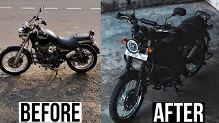 Touring Modifications on ROYAL ENFIELD | Less than 20,000 Rupees