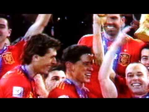 2010 FIFA World Cup Trophy Presentation