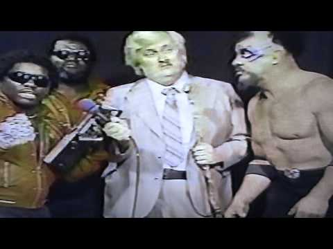 Championship Wrestling from Florida - 1985 - Interviews Jesse Barr - Rick Rude - Percy Pringle