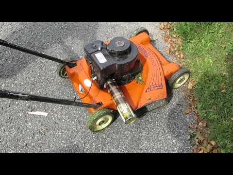 review of DIY lawn mower muffler repair
