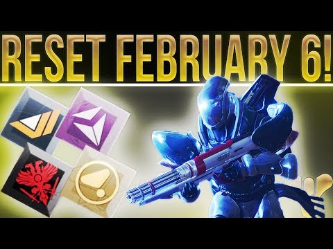 Destiny 2 WEEKLY RESET! (Feb 6) Raid Sniper, Nightfall, Weekly Activities, Vendor Gear & More!