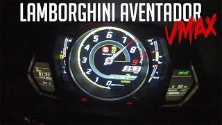 JP Performance - LAMBORGHINI AVENTADOR | TOP SPEED | 353 KM/H