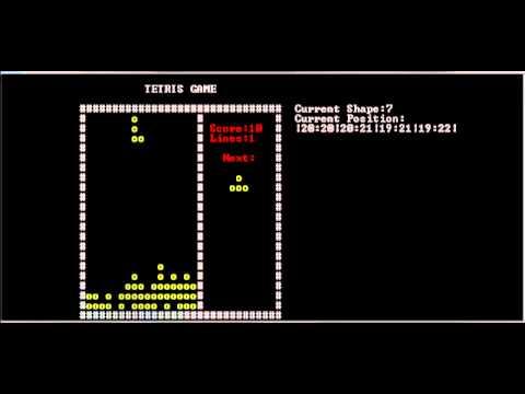 Tetris Game Tutorial C# Interface