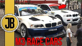 Insane BMW E46 M3 Race Cars Behind the Ritz Hotel (450BHP) | Car Builds