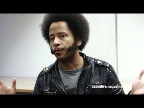 """Ceasefire Interviews Boots Riley, The Coup """"Sorry To Bother You"""""""